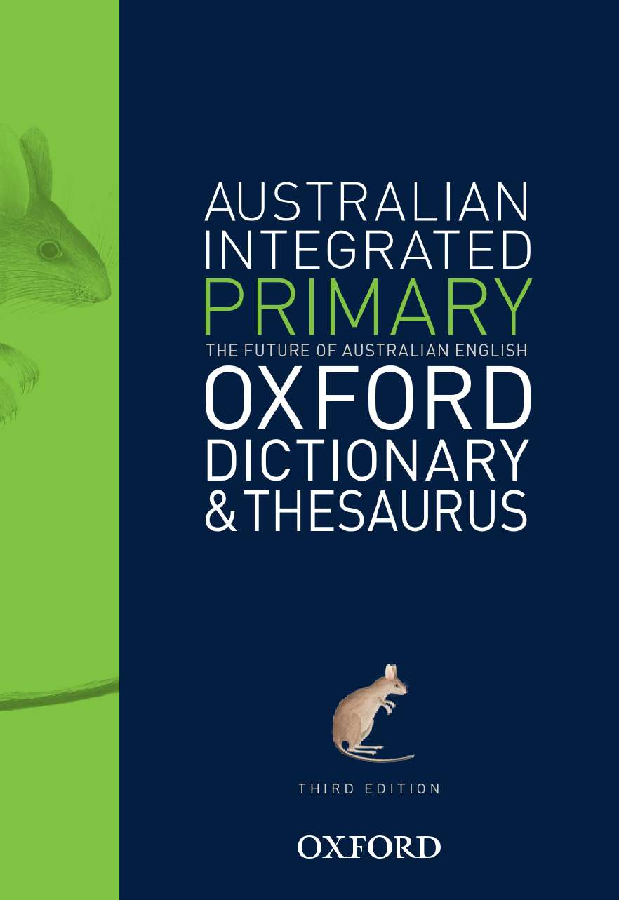 Australian Primary Integrated Dictionary and Thesaurus